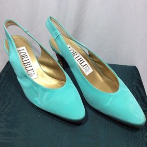 Loriblu Shoes - Blue Loriblu Heels